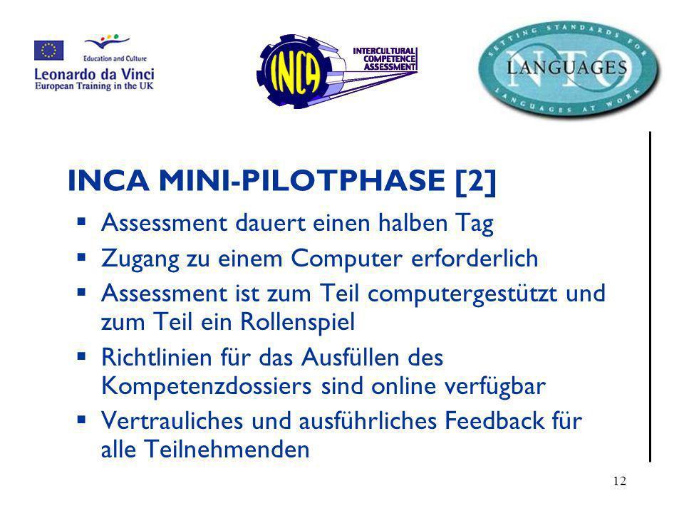 INCA MINI-PILOTPHASE [2]